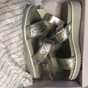 Aldo silver sandals